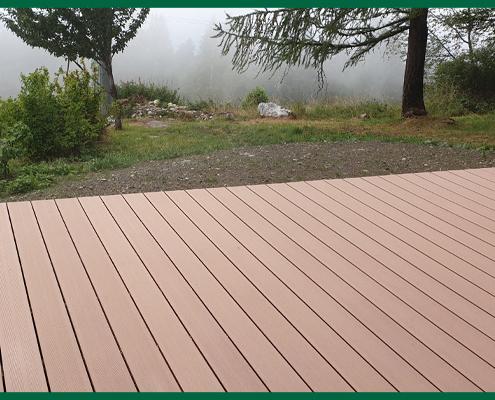 Terrasse en bois par Destaing Paysagiste