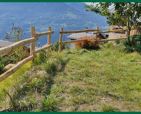 Création d'escaliers et barrières par Destaing Paysagiste